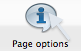 Page Options button image